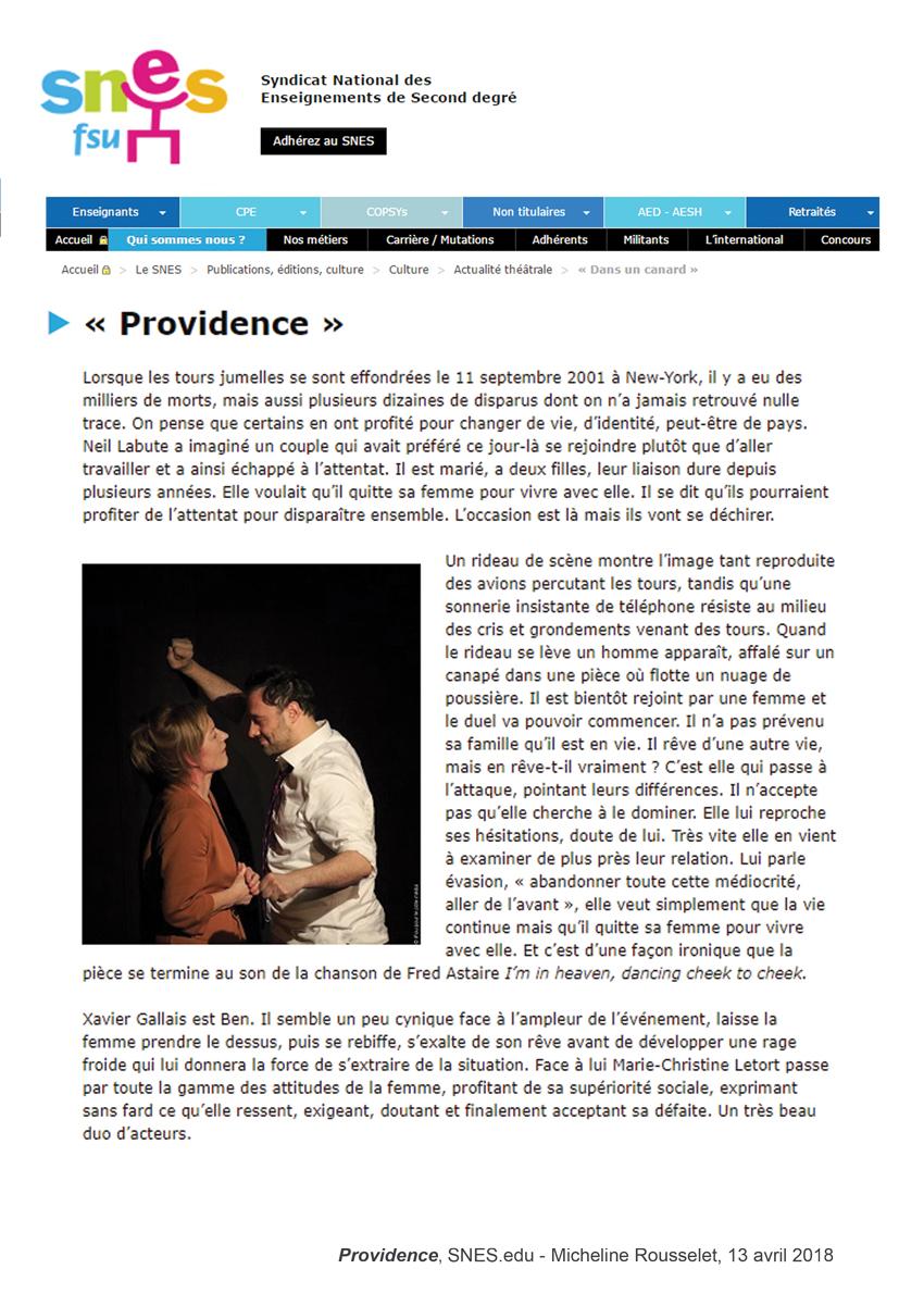 Providence - SNES