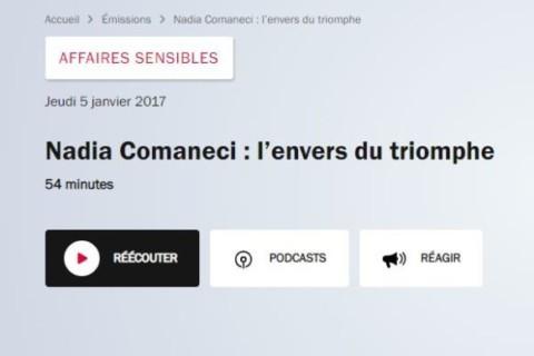 Nadia Comaneci : l'envers du triomphe (podcast)